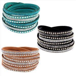 NWT*SALE 3 for 30! Glittering Swarovski Bracelets!